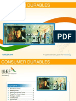 Consumer Durables August 2014