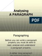 SM3. Working with Paragraphs