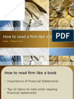 How to Read a Firm Like a Book Update-group 2