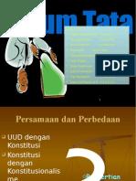 Persamaan dan Perbedaan UUD dan Konstitusi
