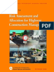 05 RM Guide to Risk Assessment and Allocation for Highway Construction Management