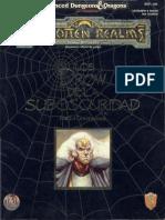 D&D - 2.0 - Forgotten Realms - Los Drow de La Suboscuridad [EZ406]