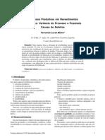Processos Produtivos em Revestimentos Cerâmicos