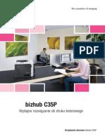 Bizhub C35P Folder PL