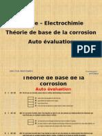 AE1 Chimie électrochimie AE1 Chimie électrochimie