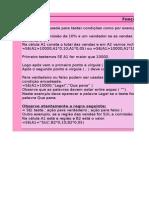 Folha de Cálculo - Função SE