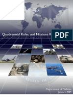 DoD Quadrennial Roles and Missions Review 26 Jan. 2009