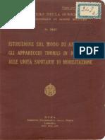 Istruzione sugli apparecchi Thomas (2837) 1935