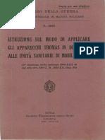 Istruzione sugli apparecchi Thomas (2837) 1942