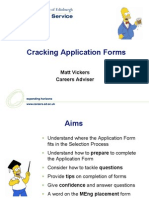 cracking application forms