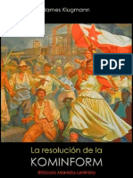 James Klugmann; La resolución de la Kominform, 1951.pdf
