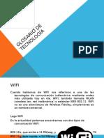 Glosario de Tecnología