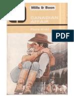 Flora Kidd Canadian Affair