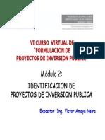 Módulo de Identificación de Proyectos