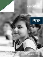 Costul Investitiei Insuficiente in Educatie 2014