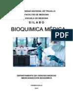 Silabus Bioquimica Medicina Para 2015