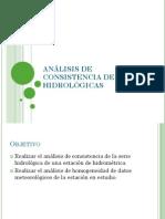 3-Análisis de Consistencia de Series Hidrológicas