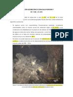 Inspección Geomecánica Zona Baja Porvenir 9-Jl