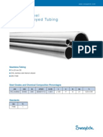 Stainless Steel - Titanium Alloyed Tubing