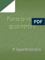 Plantas de Interes Agroalimentario Ppt