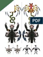 Demoness, Marilith, Minion & Nalfesnee