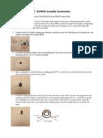 JT Kit001b Assembly Instructions