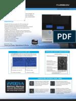 UPS Forza fx_2200lcd Manual