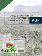 Analisis Territorial Planificacion Usos de Suelo - Apuntes Curso Doctorado