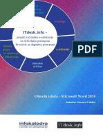 Prirucnik Obrada Teksta Microsoft Word 2010 (1)