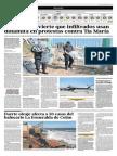 05-05-2015 - El Comercio - Portafolio - Fuerte Oleaje Afecta a 50 Casas Del Balneario La Esmralda en Colán