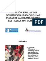 Prevencion en El Sector Construccion Basado en Las Etapas de La Construccion y Los Riesgos Mas Comunes - Agosto 2010 - 1