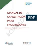Manual de Capacitación Para Facilitadores - Protocolo Para La Atención de Niños y Adolescentes Sin Cuidado Parental