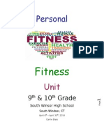 Personal Fitness Unit Plan