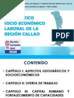 Diagnóstico Socio Económico Laboral de a Región Callao