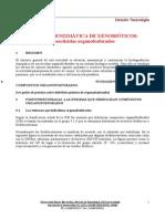 Degradación Enzimática de OPs Por Paraoxonasa