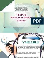 Tema 4 Marco Teorico Variable