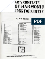 Bret Willmott - Complete Book of Harmonic Extensions for Guitar