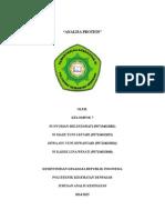 Analisa Protein Klp 7