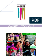 - Agenda – Mayo 2015