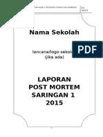 Contoh Laporan Post Mortem s1 2015