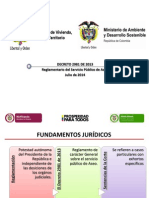 Presentación Del Decreto 2981 de 2013 Del Ministerio de Ambiente