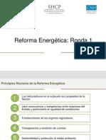 Reforma Energetica Ronda 1