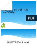 Tecnico en Gestion Ambiental