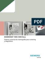 Listado de Repuesto - Mamografo Siemens