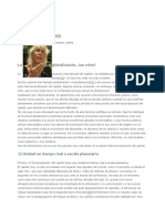 Marta Hanecker La globalizacion