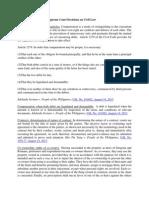 August 2013 Philippine Supreme Court Decisions on Civil