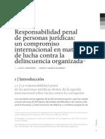 Resp Penal de Personas Juridicas - Arocena