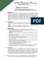 Directiva 2014-003 - MPP - ELABORACION DE EXPEDIENTES TECNICOS.pdf