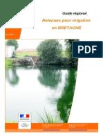 Retenues pour irrigation
