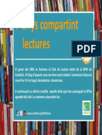 7 Anys Compartint Lectures